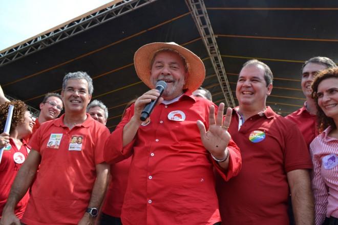"""""""Tinha gente do meu lado que queria aprovar o terceiro mandato, mas eu não quis"""", disse Lula/Foto: Socorro Pinheiro/Contilnet Notícias"""