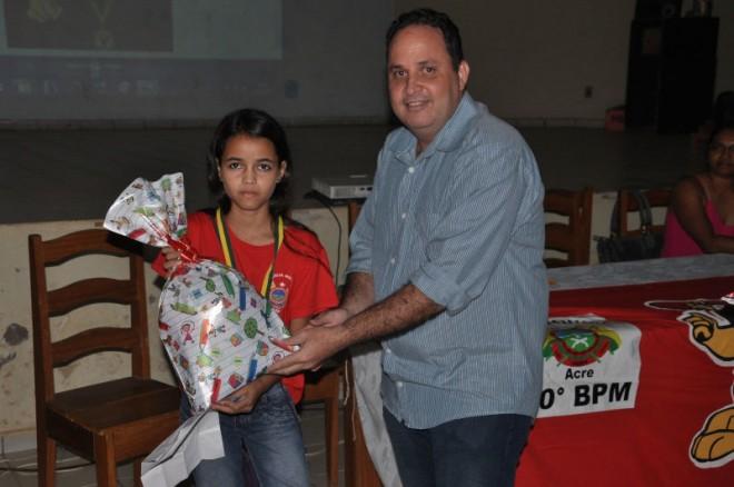 Secretário interino de Educação do Município de Brasiléia, Sérgio Tuma.