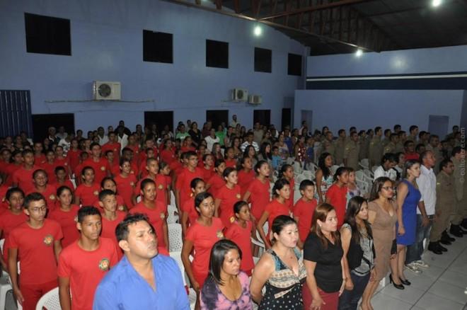 Evento contou com presença de vários convidados e autoridades.