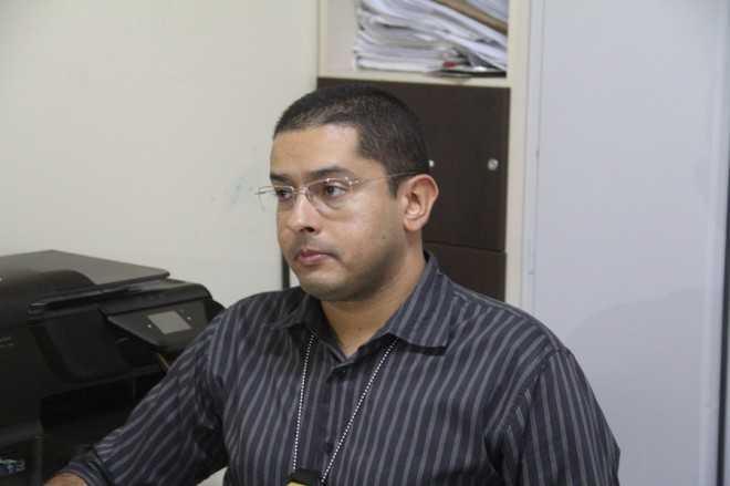 Delegado de Xapuri (AC), Antônio Carlos Marques de Melo, foi atingido por duas vezes – Foto: Alexandre Lima/Arquivo