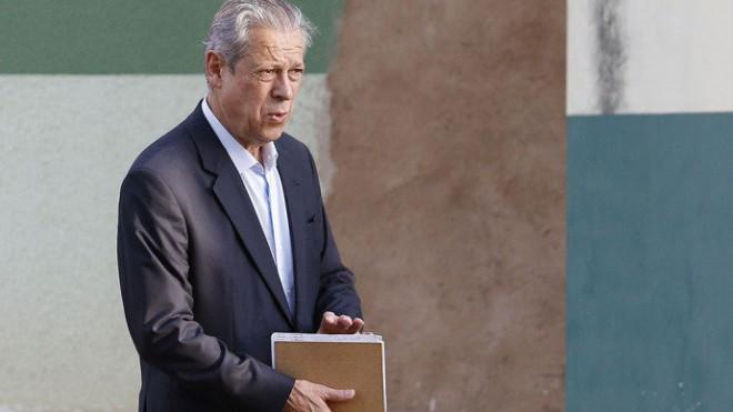 TENTÁCULOS – O ex-ministro da Casa Civil José Dirceu: consultoria para empreiteiras do petrolão(Dida Sampaio/Estadão Conteúdo)
