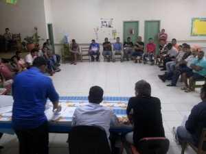 Em reunião com lideranças do Partido Progressista em Brasiléia.