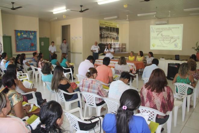 Encontro em Brasiléia, aconteceu no Centro de Convivência do Idoso...