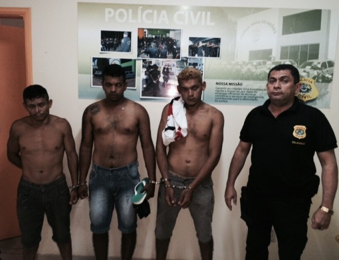 Prisões ocorreram em resposta às ações de vândalos ocorridas em Tarauacá (Divulgação PC)