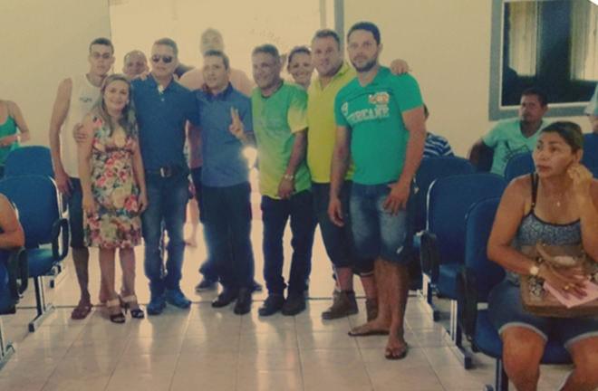 Anderson Hassem se firma como presidente do DEM em Epitaciolândia - Foto: cedida/celular