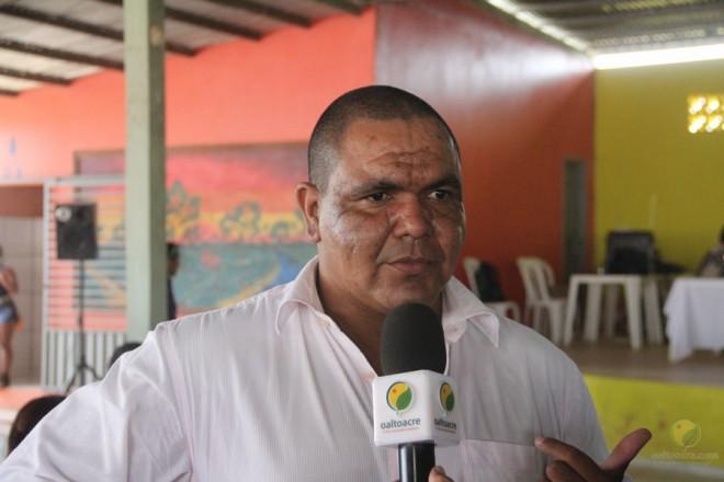 Presidente da Câmara Municipal de Brasiléia, Mário Jorge Fiesca - foto: Alexandre Lima