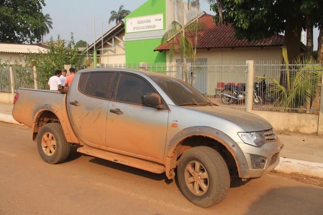 Veículo foi entregue na delegacia de Brasiléia e depois ao proprietário - Foto: Alexandre Lima