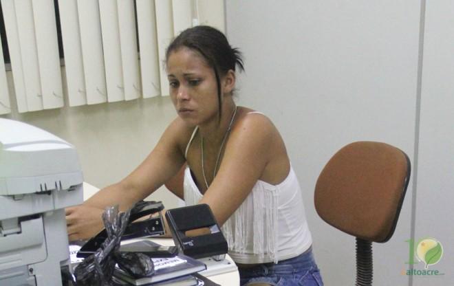 Francisca vinha sendo investigada a tempos pelos policiais - Foto: Alexandre Lima