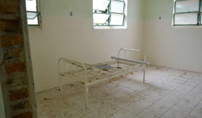 Hospital passa por reforma após cheia do rio Acre/Foto: Charlton Lopes/ContilNet
