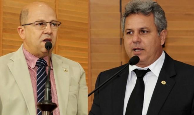 Deputados do PT acreano, Jonas Lima e Lourival Marques - Foto/montagem - Divulgação