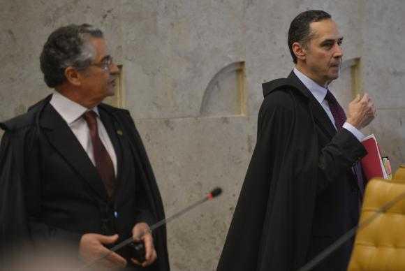 Para os ministros Marco Aurélio e Luís Roberto Barroso, o STF vai julgar somente a constitucionalidade das regras sobre tramitação do processo de impeachment, sem entrar na decisão política do CongressoArquivo/José Cruz/Agência Brasil