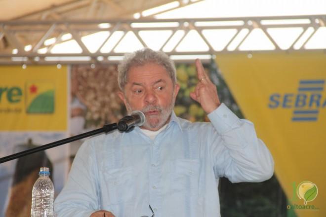 Ex-presidente do Brasil, Luis Inácio Lula da Silva - Foto/Alexandre Lima