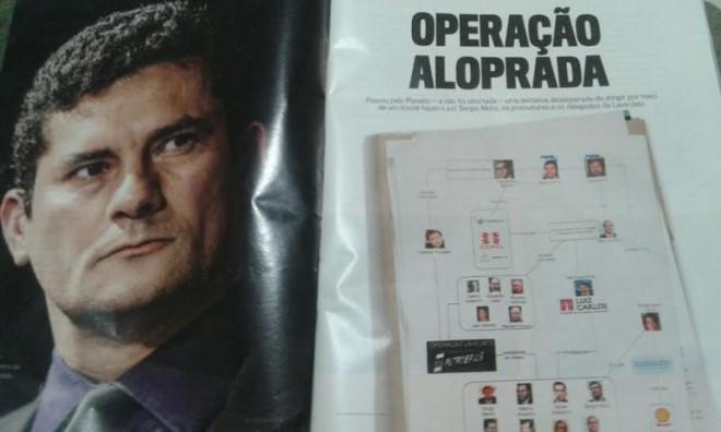 A reportagem informa como foi montado o esquema conspiratório contra Moro