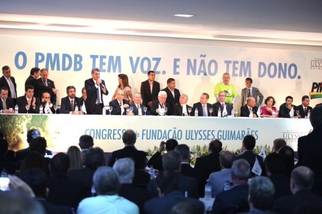 Romero Juca - Congresso Nacional do PMDB Novembro 2015