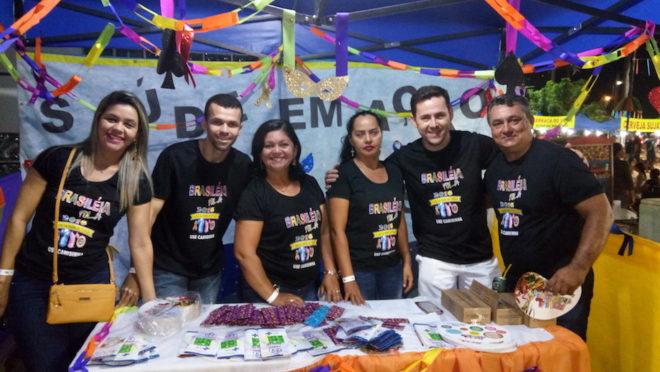 Equipe da Secretaria Municipal de Saúde estiveram presente no Brasiléia folia - Foto: Alexandre Lima