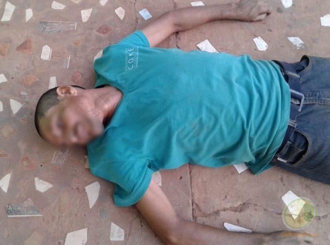 Antonio pode ter tido um mal súbito e morreu no meio da avenida - Foto: Alexandre Lima