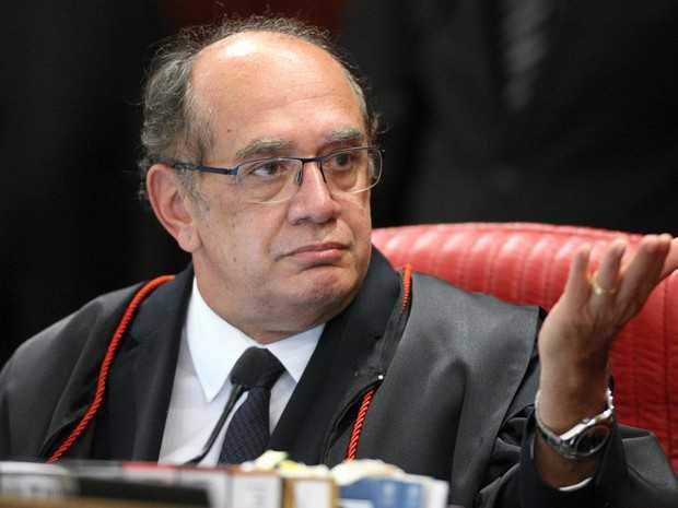 Ministro Gilmar Mendes, durante sessão plenária do TSE. Brasília-DF (Foto: Roberto Jayme/ SCOI /TSE)