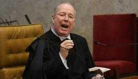 O ministro Celso de Mello falou em nome dos ministros do SupremoWilson Dias/Agência Brasil