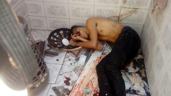 Edmilson Gomes dos Santos, 18 anos, foi morto durante intensa troca de tiros com a polícia. Em relação ao outro suspeito.