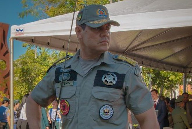 Coronel Ulysses deixou claro que a polícia não vai baixar a guarda contra aquele que descumprem as leis /Foto: ASCOM PMAC