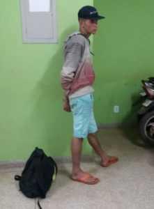 Odevani foi preso após tentar fugir