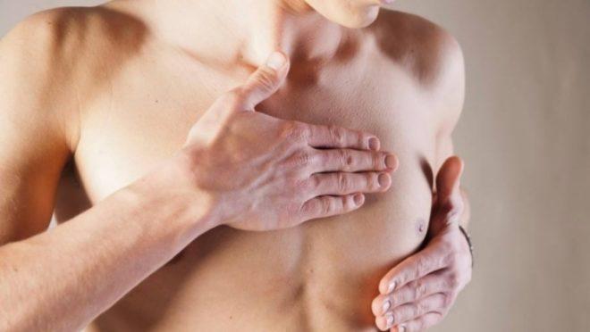 Cerca de 1% dos casos de câncer de mama são diagnosticados em homens. Foto: Reprodução