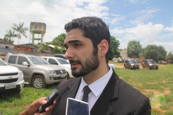 Delegado da PF em Epitaciolândia, Fares Feghali, comandou a Operação Panaceia - Foto: Alexandre Lima
