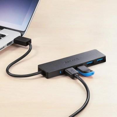 Anker 4-Port USB 3.0 Hub Ultra-Slim Data Hub