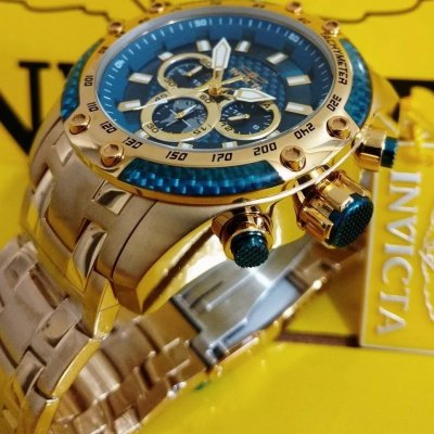 Invicta Speedway Chronograph Blue Dial Men's Watch 25945