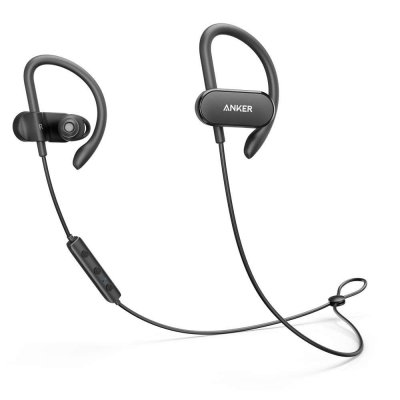 Anker SoundBuds Curve Wireless Headphones with 18 Hour Battery, CVC Noise Cancellation