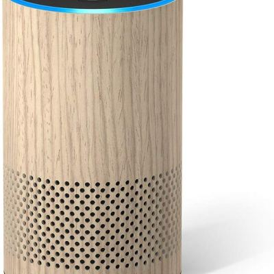 Amazon Echo (2nd Generation) – Smart speaker with Alexa – Limited Edition Oak Finish