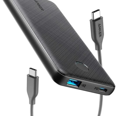 Anker PowerCore Slim 10000 PD USB-C Portable Charger (18W)
