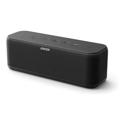 Anker Soundcore Boost Bluetooth Speaker 12H Playtime IPX7 Waterproof (Upgraded)