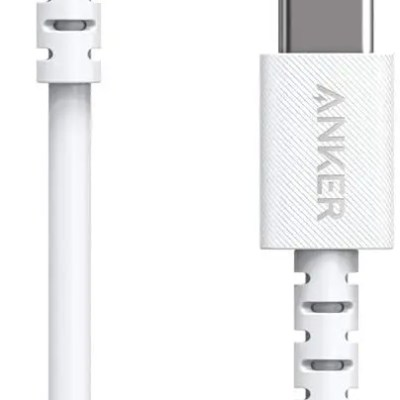 Anker PowerLine Select USB-C Cable with Lightning connector 3ft White