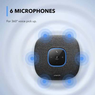 Anker PowerConf S3 Bluetooth Speakerphone with 6 Mics