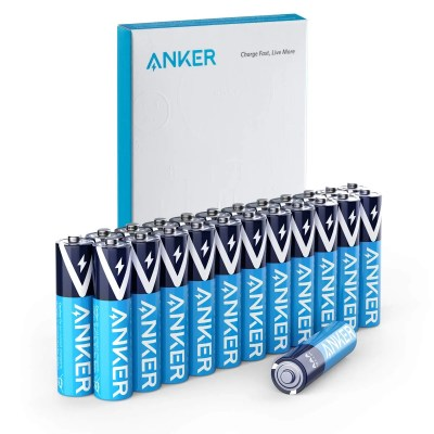 Anker Alkaline AAA Batteries (24-Pack) Non-Rechargeable