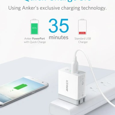 Anker PowerCore+ 26800 Power Bank and PowerPort+ 1 Combo (Both with Qualcomm Quick Charge 3.0)