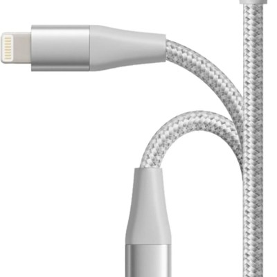 Anker Powerline+ II USB-A to Lightning Cable 6-ft – Silver