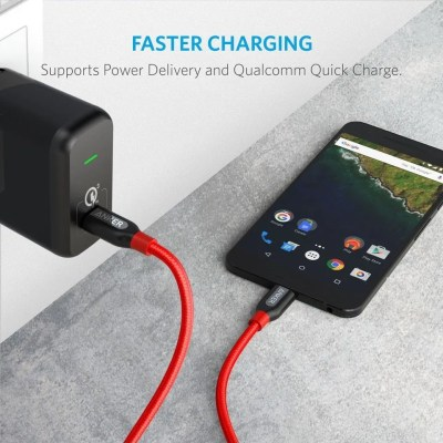 Anker Powerline+ USB-C to USB-C 2.0 3ft Red