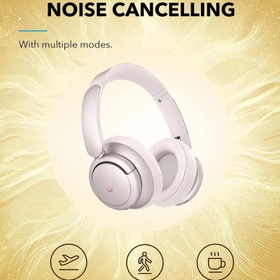 Anker SoundCore Life Q35ANC Headphones – Frosted Pearl
