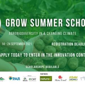 2021年【Grow Summer School-氣候變遷中的農業生物多樣性】課程,開始報名囉!