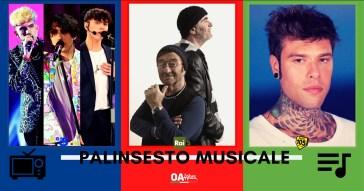 Rubrica, PALINSESTO MUSICALE: Amici 20, Dalla-De Gregori, Fedez