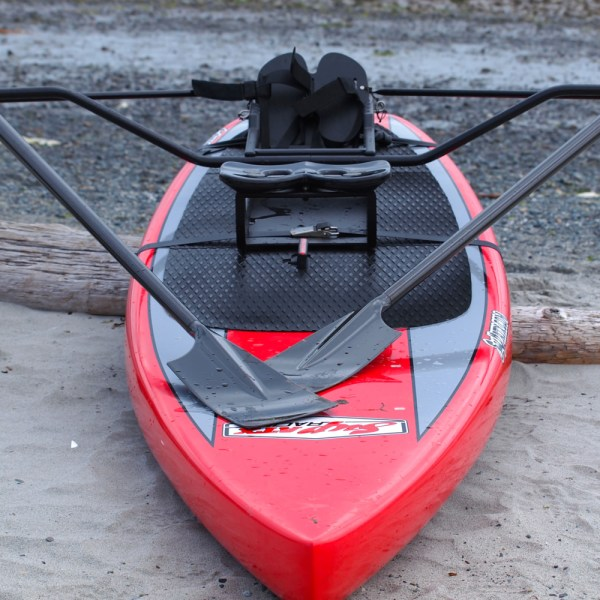 Oar Board Rower Travel Package With Two Part Carbon