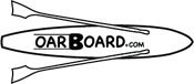 Oar Board® Fitness Row 12′ SUP Standup Paddle Board Rower