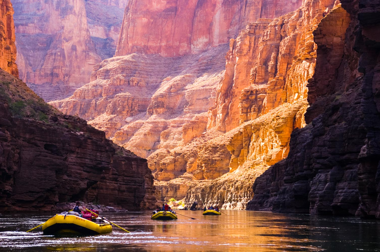 Looking Glass Falls Wallpaper Grand Canyon Rafting With Oars Lees Ferry Diamond Creek