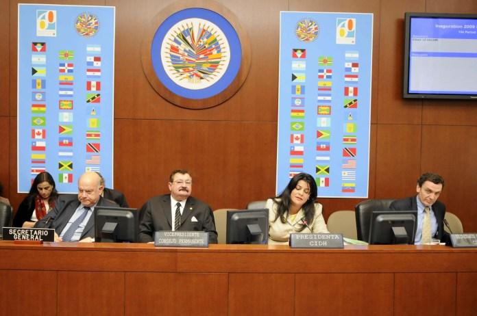Resultado de imagen para Fotos de La Comisión Interamericana de Derechos Humanos, adscrita a la Organización de Estados Americanos (OEA)