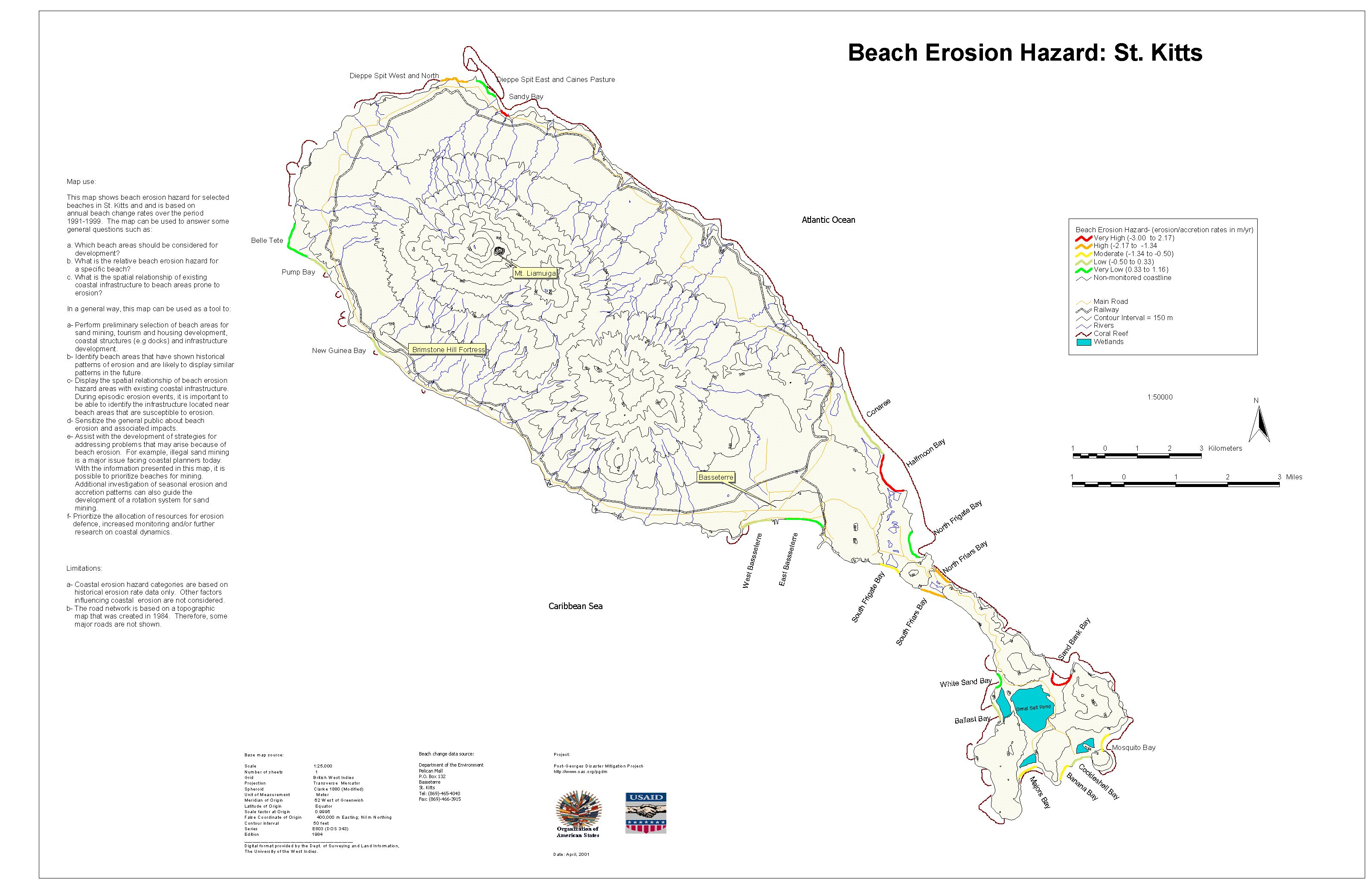 Pgdm Beach Erosion Hazard Map