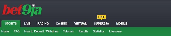 bet9ja - best online sports betting sites in nigeria