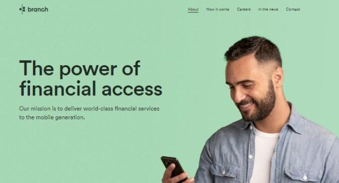 Branch international instant loan website