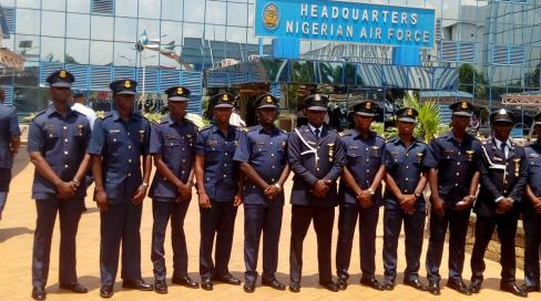 Nigeria Air force Shortlist